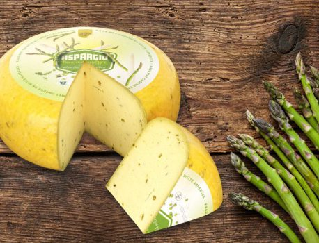 Asparagus cheese, top seasonal product!