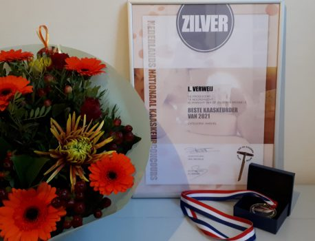 Silver at Dutch National Champion Cheese Contest